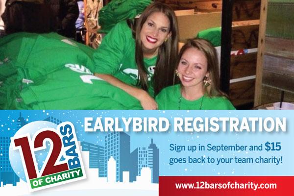 12 Bars Earlybird Registration