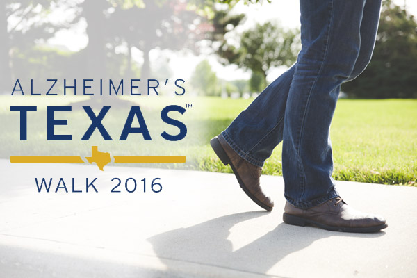 Alzheimer's Texas Walk 2016