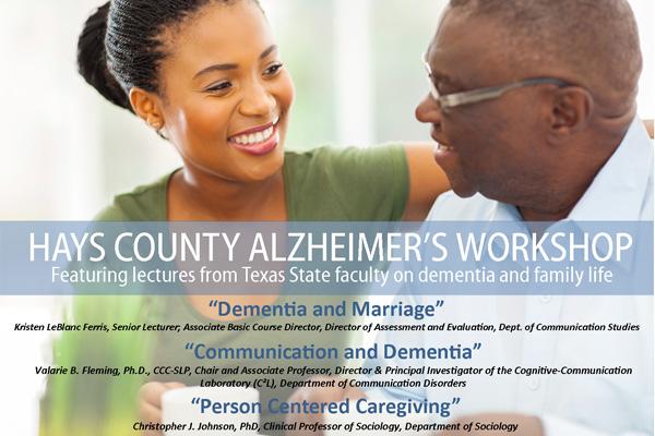 Hays County Alzheimer's Workshop