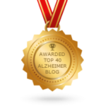 Awarded Top 40 Alzheimer Blog