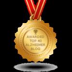 Awarded Top 40 Alzheimer Blog