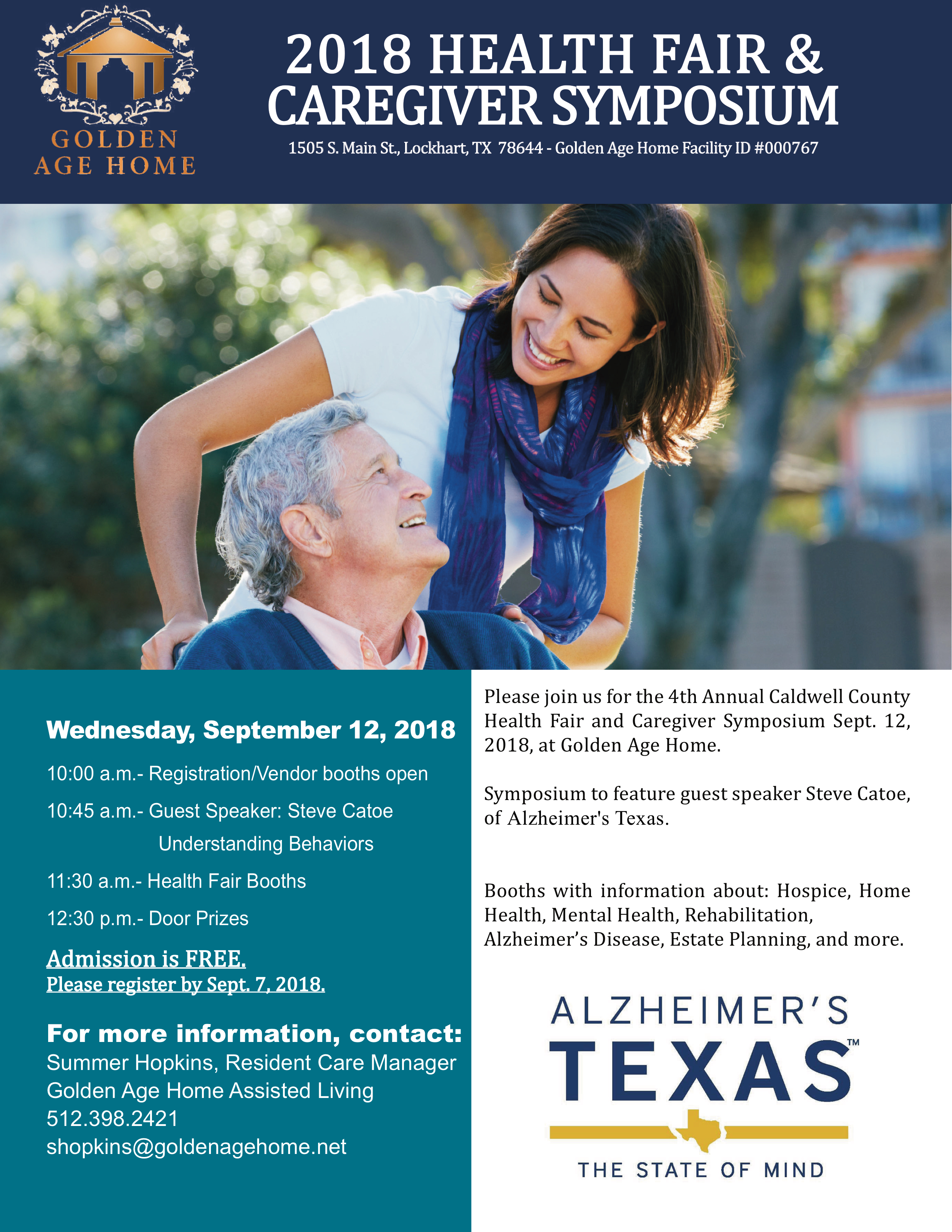 Conferences Alzheimer S Texas