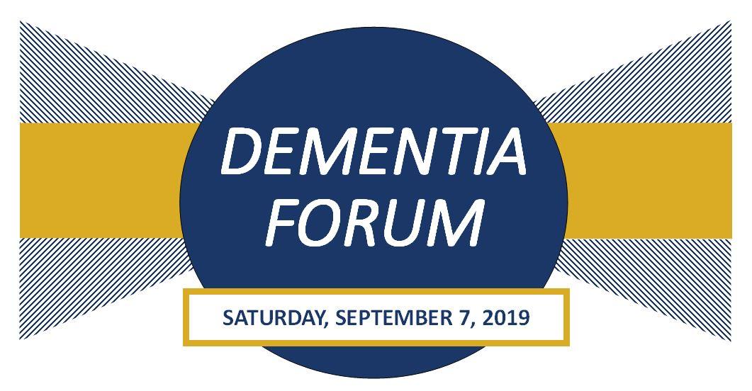 2019 dementia forum header