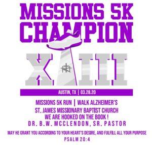 St. James Missions 5K