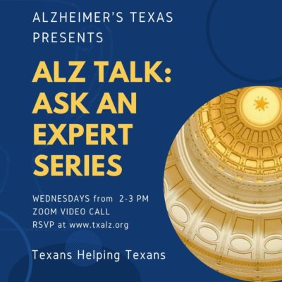 ALZ TALK- Ask An Expert Series