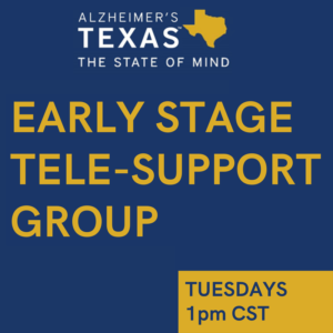 Early Stage Tele-Support Group
