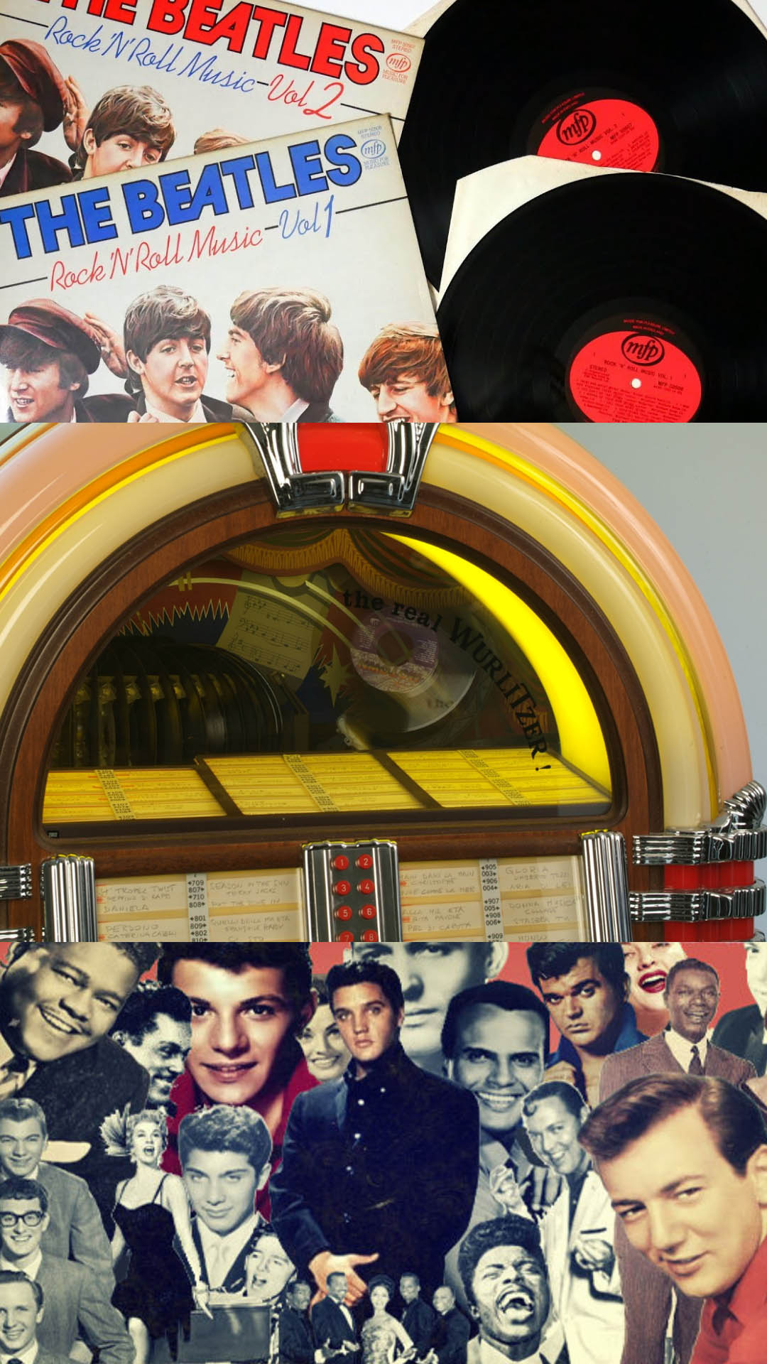 /Juke Box Days, Elvis, The Beatles and more